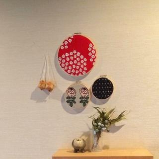 【ファブリックパネル】インテリア 北欧 ハンドメイド 廃盤(ウェルカムボード)
