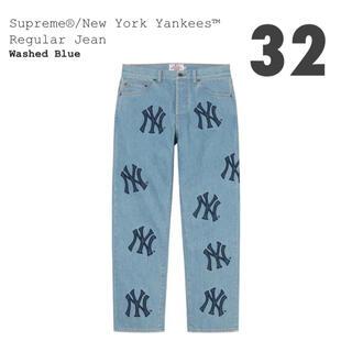 Supreme - 【32】Supreme NewYork Yankees Regular Jean