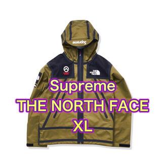 シュプリーム(Supreme)のSupreme North Face テープシームシェルジャケット オリーブXL(マウンテンパーカー)