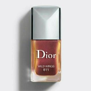 ディオール(Dior)のディオール ネイル  811  マニュキュア 巾着袋付(マニキュア)