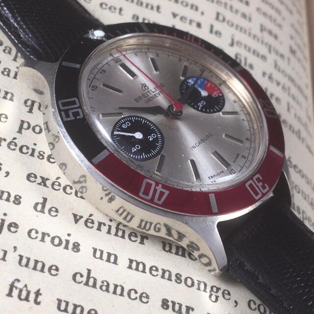 BREITLING(ブライトリング)の【山田様専用】ブライトリング/手巻き/クロノ/メンズ腕時計ww1527 メンズの時計(腕時計(アナログ))の商品写真