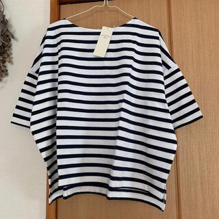 サマンサモスモス(SM2)のボーダーバスクTee(Tシャツ/カットソー(半袖/袖なし))