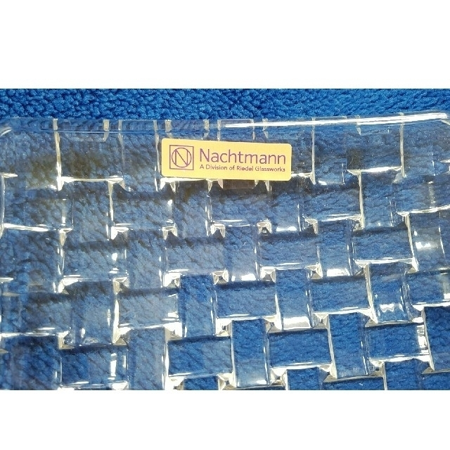 Nachtmann(ナハトマン)の長方形ガラス大皿☆ インテリア/住まい/日用品のキッチン/食器(食器)の商品写真
