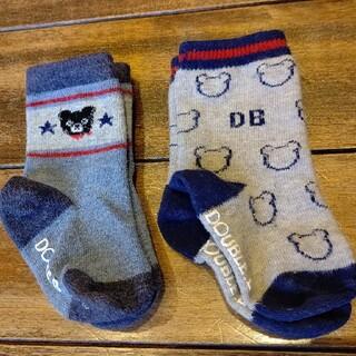 ダブルビー(DOUBLE.B)のダブルビー 靴下 2足 セット DOUBLE.B(靴下/タイツ)