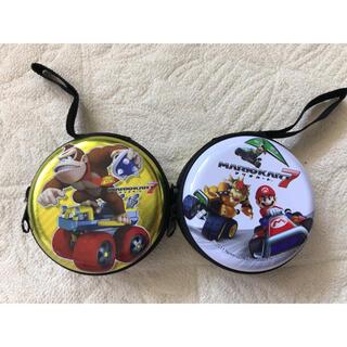 ニンテンドウ(任天堂)のスーパーマリオカート コインケース 2個(コインケース/小銭入れ)