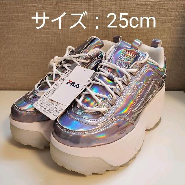 FILA(フィラ)のFILA ディスラプター 2 ウェッジ DISRUPTOR  オーロラ レディースの靴/シューズ(スニーカー)の商品写真