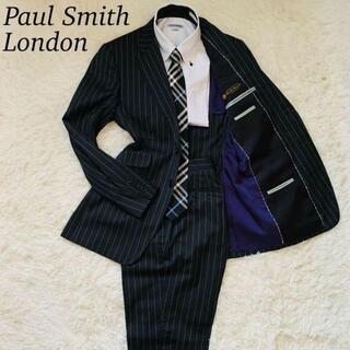 ポールスミス(Paul Smith)のポールスミス ロロピアーナ シングル セットアップ SUPER120's 灰 M(セットアップ)