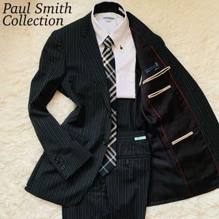 ポールスミス(Paul Smith)のポールスミスコレクション グアベロ セットアップ SUPER130's 黒 S(セットアップ)