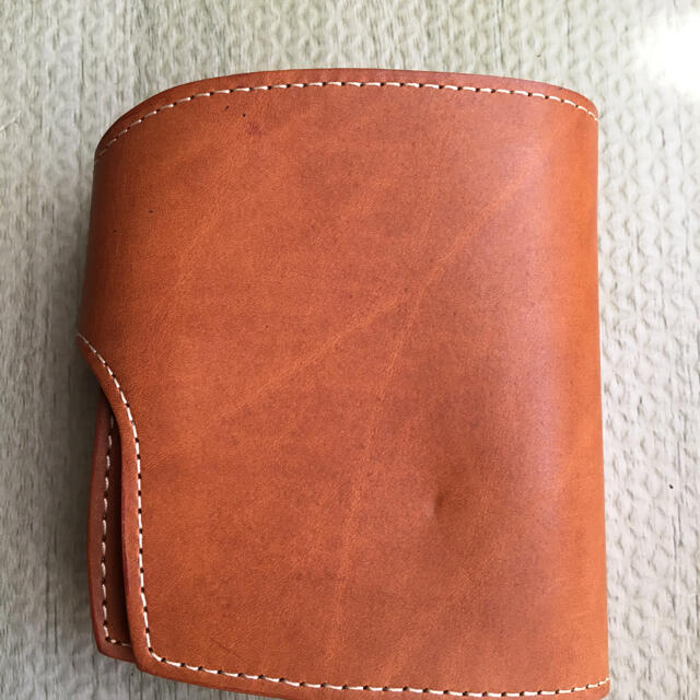 REDMOON(レッドムーン)の未使用レッドムーン色茶 メンズのファッション小物(折り財布)の商品写真