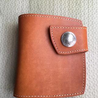 レッドムーン(REDMOON)の未使用レッドムーン色茶(折り財布)