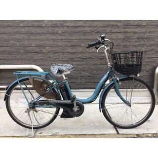ヤマハ(ヤマハ)の地域限定送料無料 ナチュラ 新基準 12,3AH 青系 神戸市 電動自転車 (自転車本体)