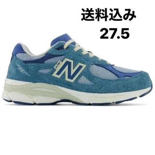 ニューバランス(New Balance)のLEVI'S × NEW BALANCE M990LI3 BLUE 27.5(スニーカー)