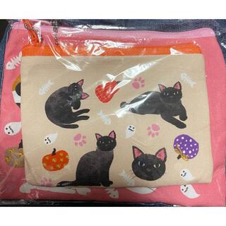 カルディ(KALDI)のKALDI ハロウィン 猫ポーチ(ポーチ)