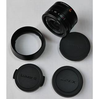 Panasonic - 美品 LUMIX G LEICA DG SUMMILUX 15mm F1.7