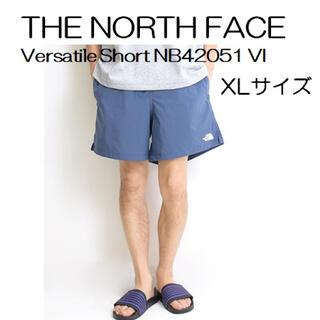 THE NORTH FACE - ノースフェイス バーサタイルショーツ ビンテージインディゴ XLサイズ
