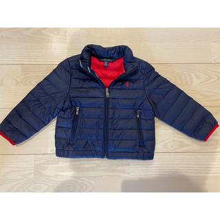 ポロラルフローレン(POLO RALPH LAUREN)のポロラルフローレン ダウン ジャケット 2T  紺 (ジャケット/上着)