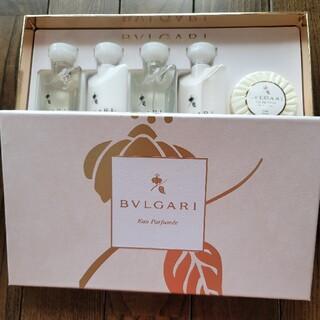 ブルガリ(BVLGARI)のBVLGARIアメニティセット(シャンプー/コンディショナーセット)