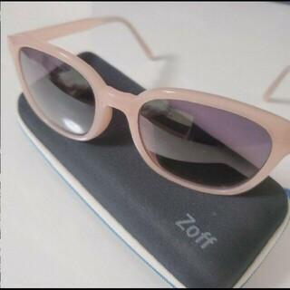ゾフ(Zoff)のZoff サングラス CLASSIC SUNGLASSES ピンク(サングラス/メガネ)