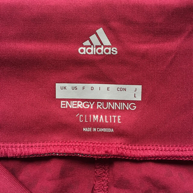 adidas(アディダス)の★アディダス レディースショートパンツ L 新品未使用★ スポーツ/アウトドアのランニング(ウェア)の商品写真
