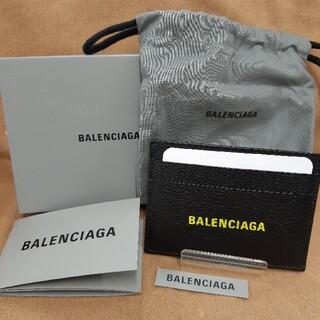 Balenciaga - バレンシアガ BALENCIAGA カードケース 594309 ブラックイエロー