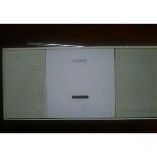 ソニー(SONY)の【訳あり】CDラジカセ SONY ZS-E30(ラジオ)
