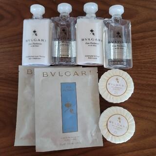 ブルガリ(BVLGARI)のBVLGARIアメニティ 入浴剤セット(シャンプー/コンディショナーセット)