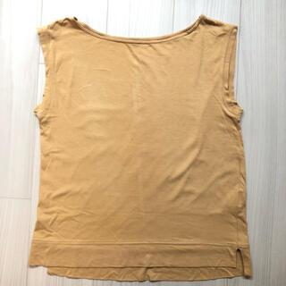 ナノユニバース(nano・universe)のナノユニバース・汗染み防止トップス・キャメル(Tシャツ(半袖/袖なし))