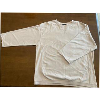 ナノユニバース(nano・universe)の ナノ・ユニバース ターンナップカフスワイドTシャツ7/S(Tシャツ/カットソー(七分/長袖))