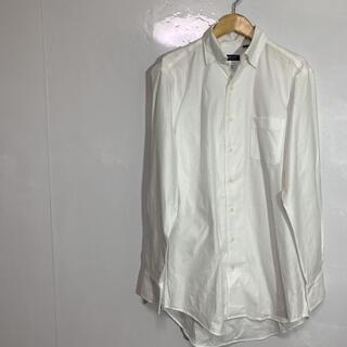 スーツカンパニー(THE SUIT COMPANY)のthe suit company シャツ 長袖 白  L-LL 品番20(シャツ)