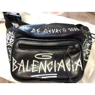 Balenciaga - BALENCIAGA グラフティ ボディバッグ