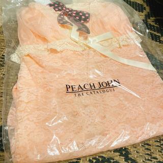 ピーチジョン(PEACH JOHN)のピーチジョン PJ キャミソール ベビードール ピンク レース 下着 新品(その他)