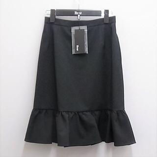 ルネ(René)のRENE 裾切り替えフレアのスカート タグ付未使用品です。(ひざ丈スカート)