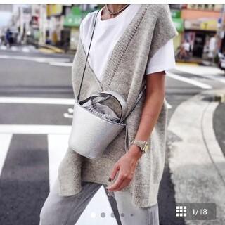 ドゥロワー(Drawer)のayako bag   Pottery Bag/SILVER(ショルダーバッグ)
