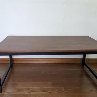 ローテーブル 作業台 ダークブラウン(ローテーブル)