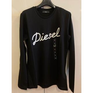 ディーゼル(DIESEL)の新品未使用! ディーゼル Tシャツ ブラックM(Tシャツ(長袖/七分))