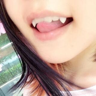 コスプレ 小悪魔つけキバ 付け八重歯 さいかわ サイズ //acu(小道具)