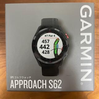 ガーミン(GARMIN)のGARMIN(ガーミン) ゴルフナビ Approach S62 ブラック(その他)