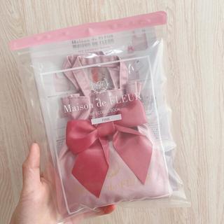Maison de FLEUR - 【未開封*完売品】Maison de FLEUR エコバッグ&BOOK ピンク