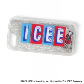 ニコアンド(niko and...)の【ICEE(アイシー)】コラボラメスマホケース/iPhone6,6S,7,8,(iPhoneケース)