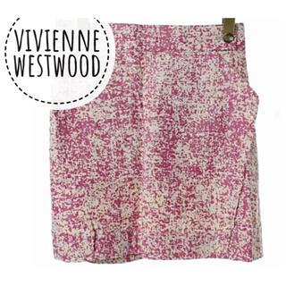 ヴィヴィアンウエストウッド(Vivienne Westwood)のvivienne westwood ANGLOMANIA【美品】台形 スカート(ミニスカート)