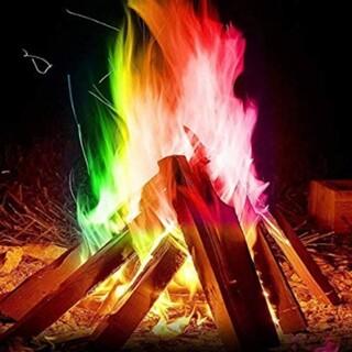 マジックファイヤ 10袋 ミスティカル FIRE 神秘的 虹色(その他)