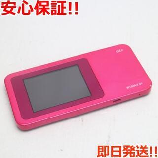 HUAWEI - 美品 au W01 Speed Wi-Fi NEXT ベリー