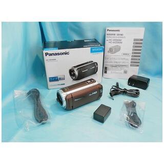 パナソニック(Panasonic)の Panasonic ワイプ撮り/ビデオカメラ HC-W590M ブラウン(ビデオカメラ)