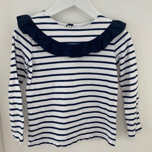 Jacadi(ジャカディ)のjacadi カットソー 6A キッズ/ベビー/マタニティのキッズ服女の子用(90cm~)(Tシャツ/カットソー)の商品写真