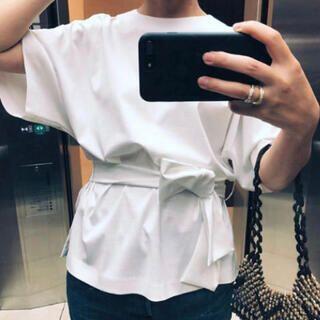 ロンハーマン(Ron Herman)の【特別価格】 ebure 半袖カットソー ウエストリボン (Tシャツ(半袖/袖なし))
