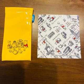 Zoff - 【Zoff】Pooh プーさん メガネケース メガネ拭き