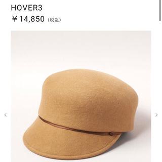 カシラ(CA4LA)のカシラ 帽子 キャスケット HOVER3 キャメル(キャスケット)