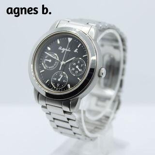 アニエスベー(agnes b.)のagnes b. アニエスベー★トリプルカレンダー レディース腕時計 上品(腕時計)