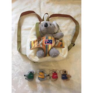 オーストラリアコアラ ぬいぐるみバッグとクリップ(ぬいぐるみ/人形)