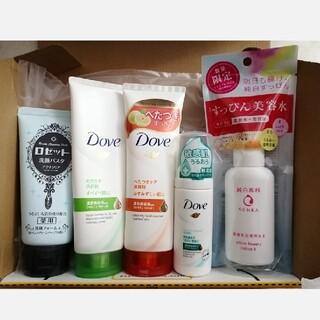 Unilever - 洗顔料 美容水 詰め合わせ ダヴ ロゼット 純白専科
